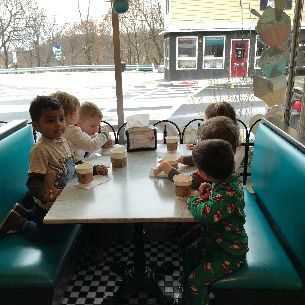 Preschool Students Enjoy Trip to Town