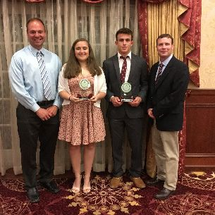 Scholar Athletes Receive Honors