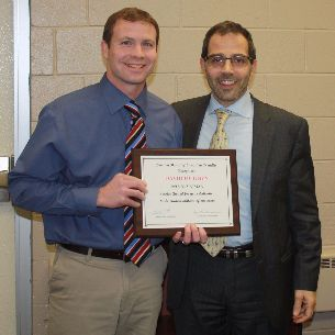 BHS Athletic Director Dave Hughen Honored