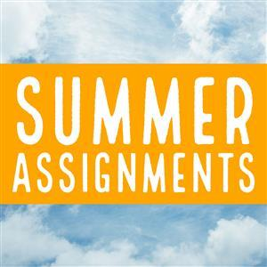 Summer Assignments 2018